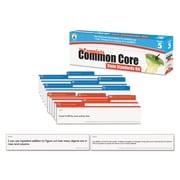 Carson-Dellosa Publishing™ The Complete Common Core State Standards Pocket Chart Card Kit, Grade 5