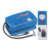 Champion Sports Electric Inflating Pump With Gauge/Hose & Needle