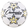 Champion Sports VIPER Size 3 Soccer Ball, White