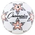 Champion Sports VIPER Size 4 Soccer Ball, White