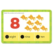 Educational Insights® Hot Dots® Jr. Numbers and Counting Card Set, Grade PreK+