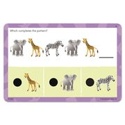 Educational Insights® Hot Dots® Jr. Patterns and Sequencing Card Set, Grade PreK+