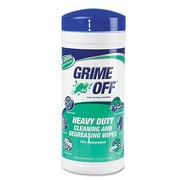 Nutek Green™ Grime Off Cleaning & Degreasing Wipes, White