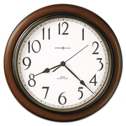 "Howard Miller® 15 1/4"" Talon Wall Clock, Cherry"