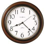 "Howard Miller® 15 1/4"" Talon Wall Clock, Cherry"