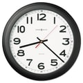 Howard Miller® 15 3/4in. Norcross Auto Daylight Savings Wall Clock, Black