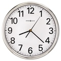 Howard Miller® 12in. Hamilton Wall Clock, Silver
