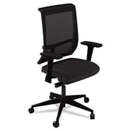 Mayline® Commute Mesh Back Fabric Task Chair, Black
