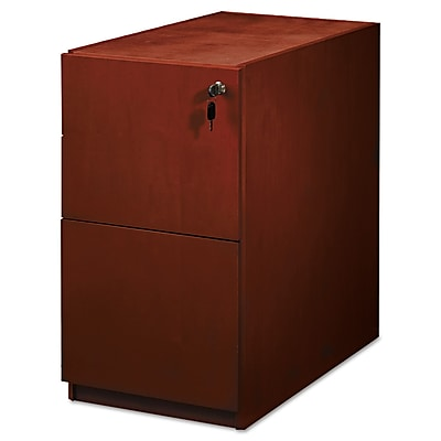 Mayline Luminary Series 22 File File Pedestal 2 Drawer Cherry