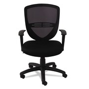 OIF VS Series Fabric Mesh Task Chair, Black