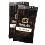 Peet's Coffee Fair Trade Blend Coffee Portion Packs, 2.5 oz.