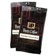 Peet's Coffee Decaffeinated - Major Dickason's Coffee Portion Packs, 2.5 oz.