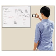 Plus MTG 35.4 Electronic Whiteboard, White/Light Gray