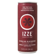 IZZE® Fortified Sparkling Blackberry Juice, 8.4 Oz., 24/Pack