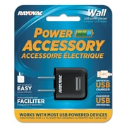 Rayovac® RAYPS69A Single USB Wall AC Charger For Cell Phones/Cameras/Mobile Devices