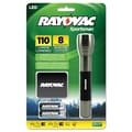 Rayovac® LED Alumium 110 Lumens Sportsman Flashlight, Black/Metallic Sage