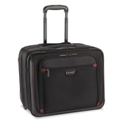 "Solo Executive Overnighter For 16"" Notebook, Black/Red"