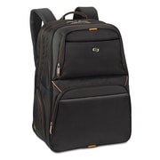 "Solo Urban Backpack For 17.3"" Notebook, Black/Orange"