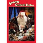 Cartes de Noël, Goodbye Christmas Cheers (anglais), paq./18