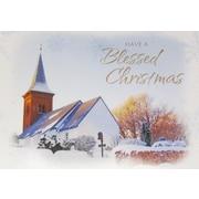 Cartes de Noël, Have a Blessed Christmas (anglais), paq./18