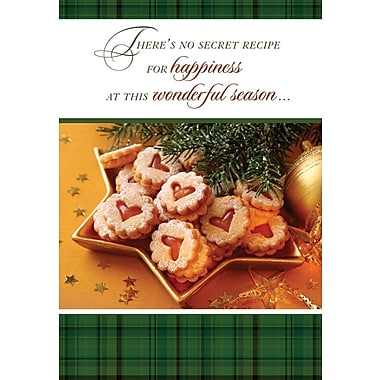 Christmas Cards, Christmas Cookies, 18/Pack