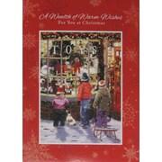 Cartes de Noël, Toys (anglais), paq./18