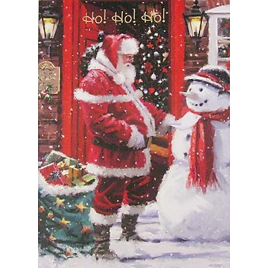 Cartes de Noël, Ho Ho Ho! (anglais), paq./12