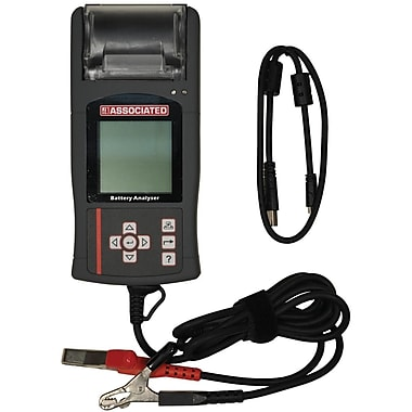 Associated 9 - 15 VDC Hand Held Digital Battery Tester with Thermo Printer and USB Port