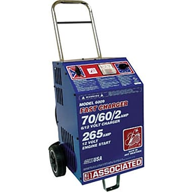 Associated 70/60/2 A Heavy-Duty Commercial Fast Battery Charger