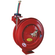 "ATD® Retractable Twinline Hose Welding Reel, 1/4"" x 50'"
