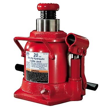 ATD® 20 Ton Heavy-Duty Hydraulic Side Pump Shorty Version Bottle Jack