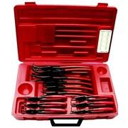 ATD® 915 Internal/External Fixed Tip Snap Ring Pliers Set, 12-Piece