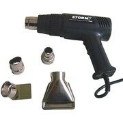 Central® Tools Strom™ Digital Variable Temperature Heat Gun Kit with 4 Tips, Red