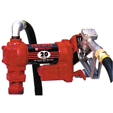 Fillrite® FR4210G 12 VDC High Flow Fuel Transfer Pump with 12' Hose