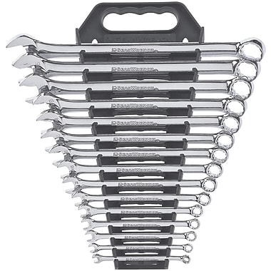 GearWrench® SAE Long Pattern Combination Non-Ratcheting Wrench Sets