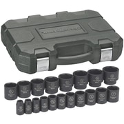 "GearWrench® 1/2"" Drive 6-Point SAE Impact Socket Set, 19-Piece"