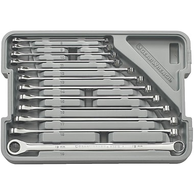 GearWrench® XL GearBox™ Metric Double Box Ratcheting Wrench Set, 12-Piece