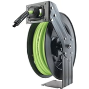 "Legacy™ Workforce™ Flexzilla® Zilla Reel™ 3/8"" x 50' Open Face Air Hose Reel"