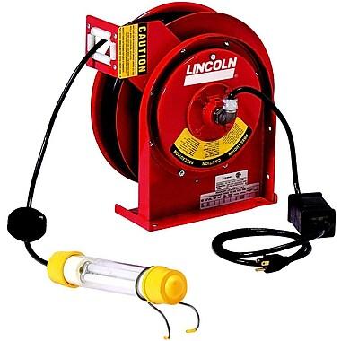 Lincoln® 91033 13W Heavy-Duty Fluorescent Light Reel