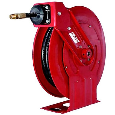 Lincoln® Air/Water Retractable Low Pressure Hose Reel, 3/8
