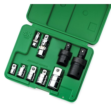 SK® Hand Tools® 4010 Universal Adapter Set, 9-Piece
