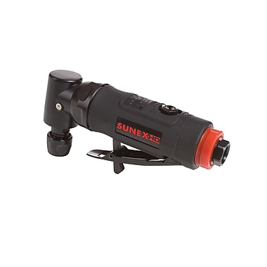Sunex® SX5203 0.25 HP Quiet Composite Angle Air Die Grinder, 20000 RPM