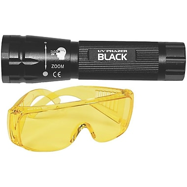 Uview UV Phazer Black AAA Batteries True UV Light