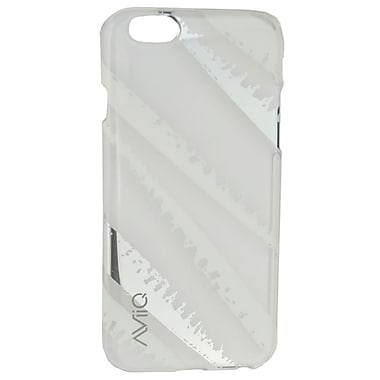 AViiQ Iphone 6 Case, White with Silver Mirror, English Only