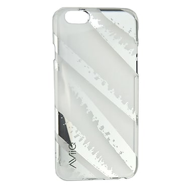 AViiQ Iphone 6 Case, Silver with Silver Mirror, English Only
