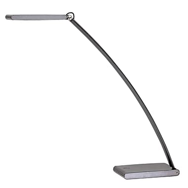 Alba Led touch 6, 5 Watt Led Desk Lamp, Dark Grey