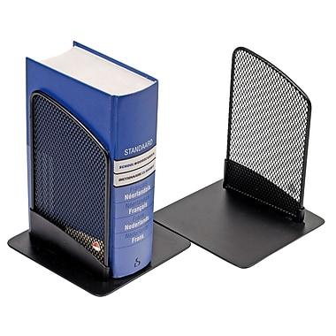 Alba – Appui-livres en mailles, comprend 2 appuis-livres par ensemble, noir, paq./3