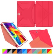 "rOOCASE Origami Polyurethane Folio Smart Case Cover for 10.5"" Samsung Galaxy Tab S, Persian Rose/Ruddy Pink"