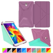 "rOOCASE Origami Polyurethane Folio Smart Case Cover for 8.4"" Samsung Galaxy Tab S, Radiant Orchid/Mint Candy"