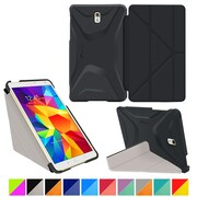 roocase Galaxy Tab S 8.4 Origami 3D Slim Shell Case, Granite Black & Cool Gray